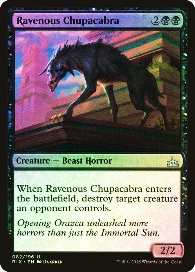 Ravenous Chupacabra (Pre-Order: Ships Jan 19)