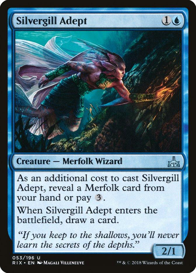 Silvergill Adept