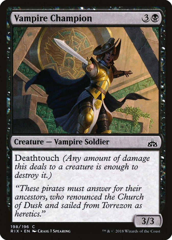 Vampire Champion