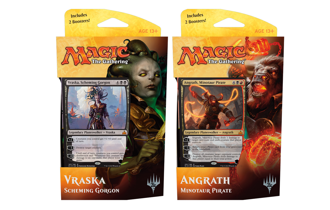 Rivals of Ixalan Planeswalker Deck -- Set of 2