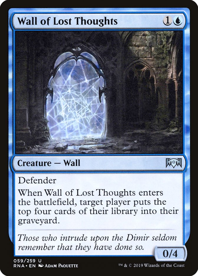Wall of Lost Thoughts