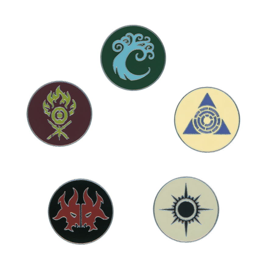 Guild Kit Pin -- Set of Five