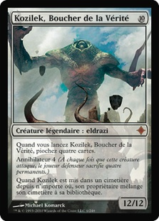 Kozilek, Butcher of Truth (Rise of the Eldrazi)