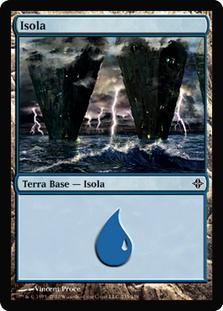 Island (#235) (Rise of the Eldrazi)
