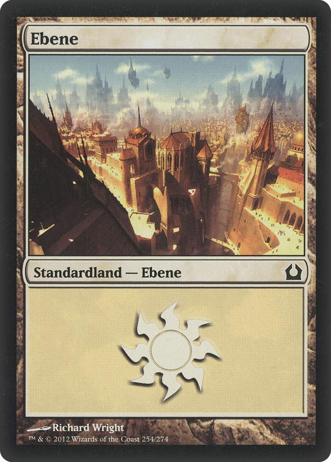 Plains (#254) (Return to Ravnica)
