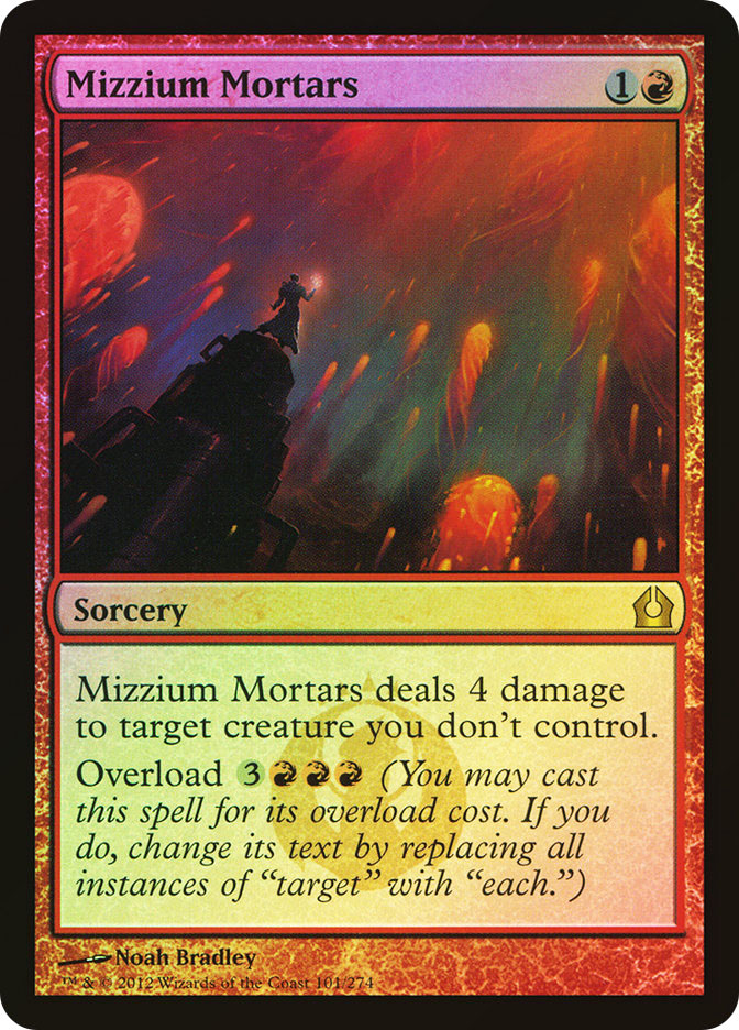 Mizzium Mortars