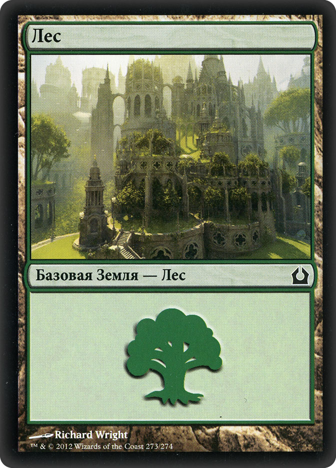 Forest (#273) (Return to Ravnica)