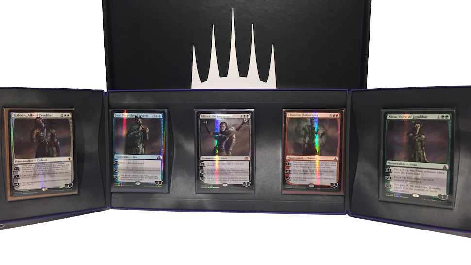 San Diego Comic-Con 2016 - Planeswalker Card Boxed Set-of-5