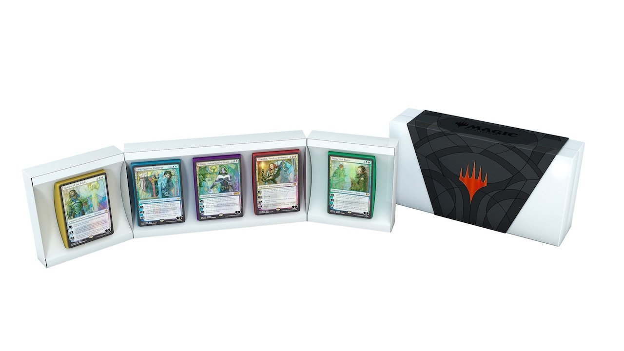 San Diego Comic-Con 2018 - Planeswalker Card Boxed Set-of-5