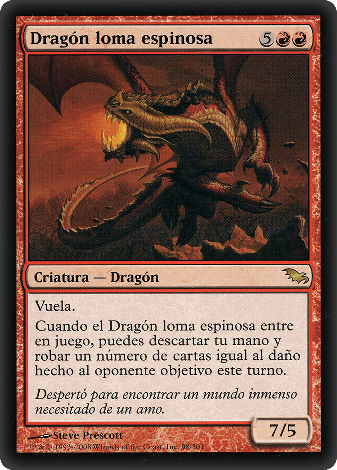 Knollspine Dragon (Shadowmoor)