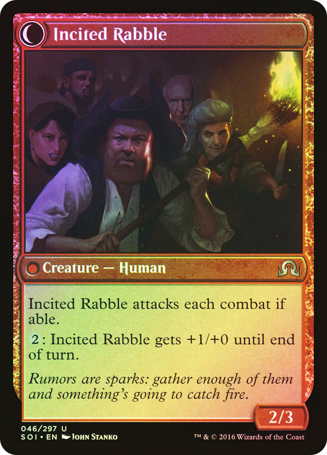 Town Gossipmonger | Incited Rabble
