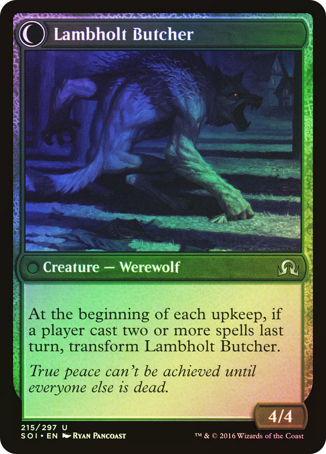Lambholt Pacifist | Lambholt Butcher