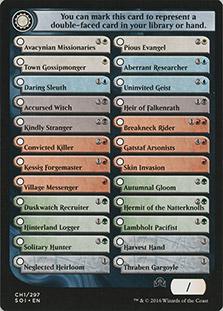 Checklist Card (CH1)