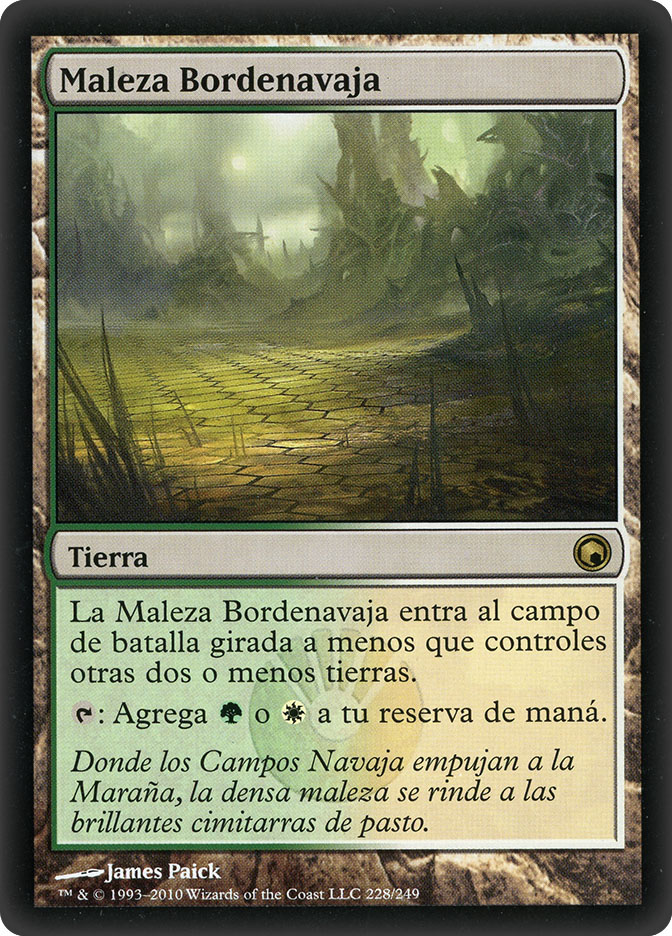 Razorverge Thicket (Scars of Mirrodin)