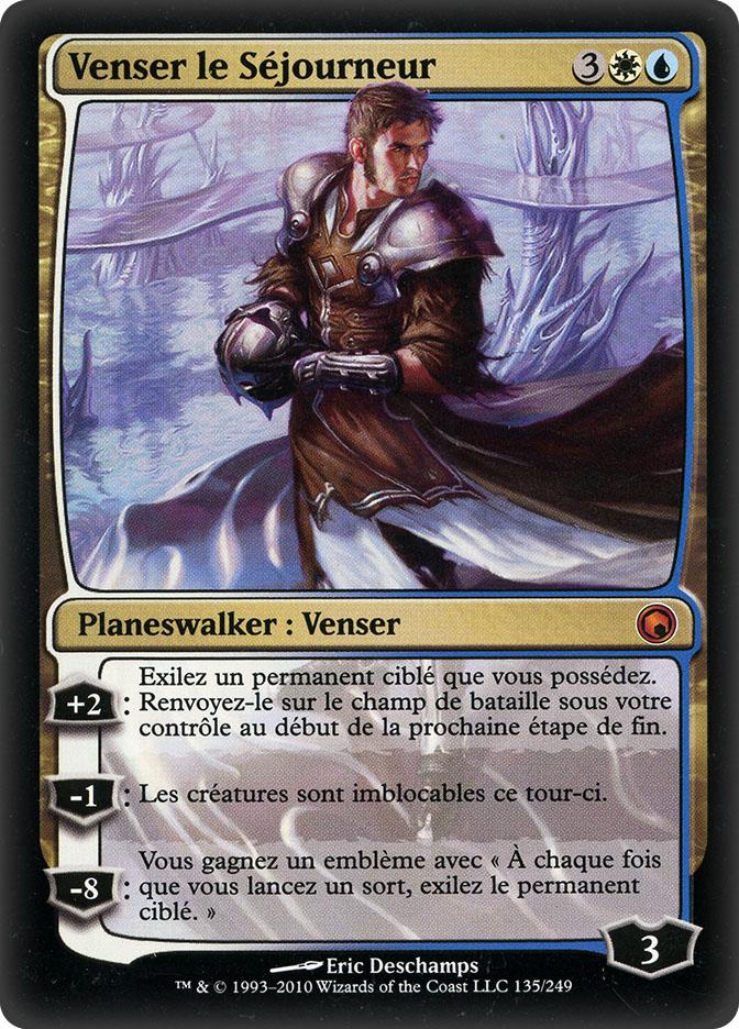 Venser, the Sojourner (Scars of Mirrodin)