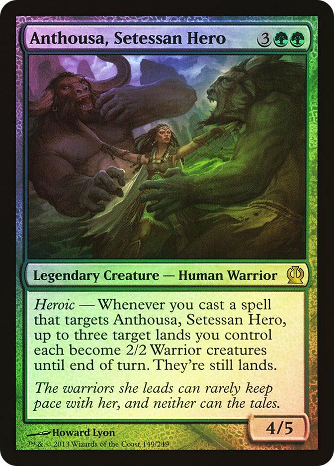 Anthousa, Setessan Hero