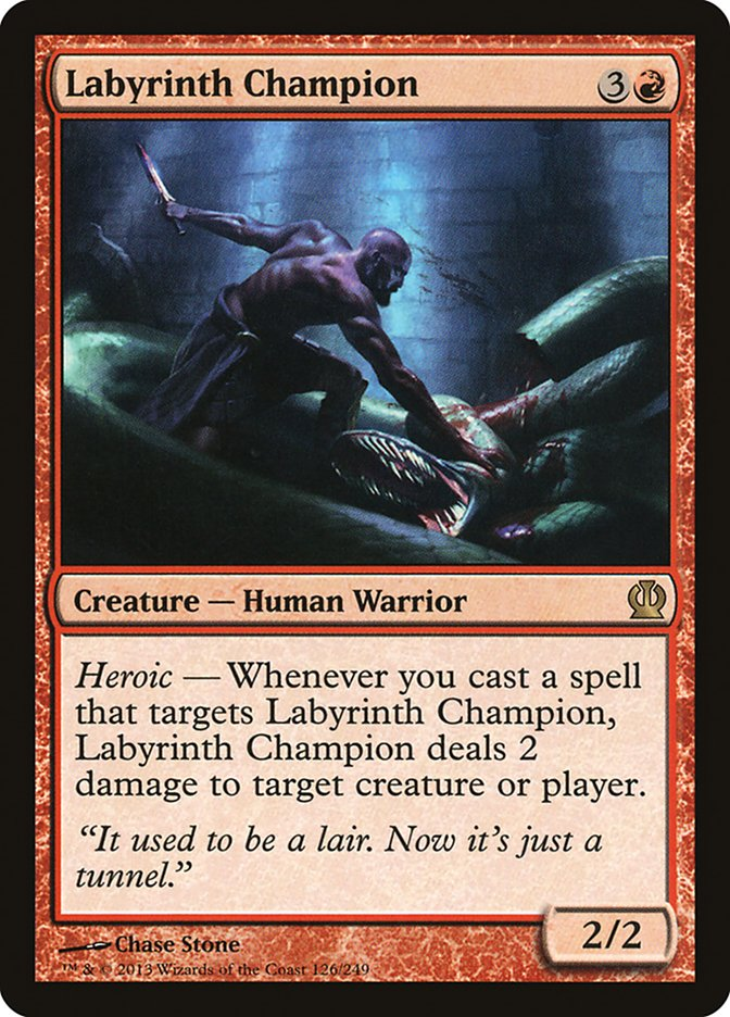 Labyrinth Champion