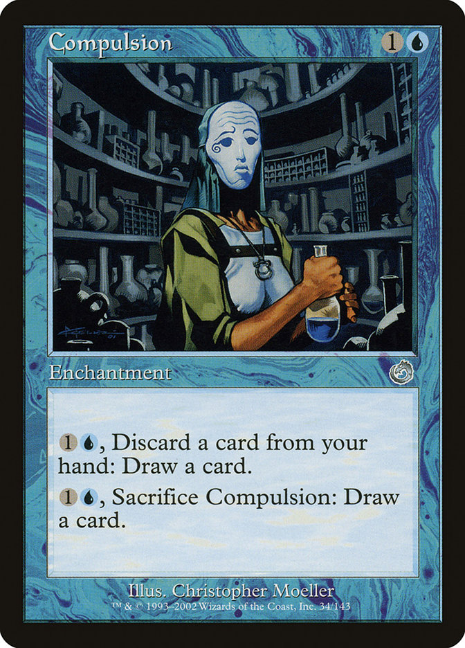 Image result for compulsion mtg
