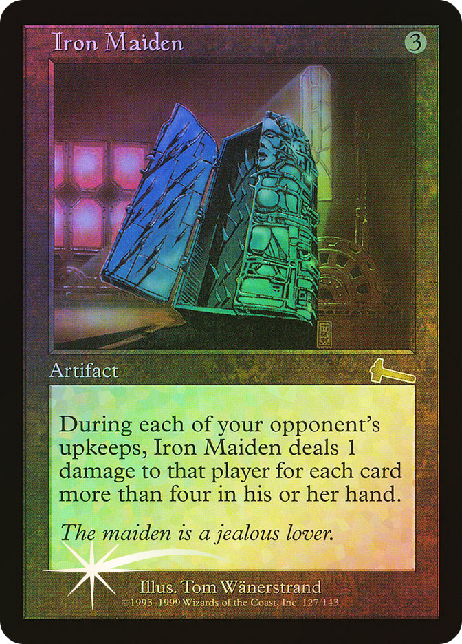 Iron Maiden (Magic card)