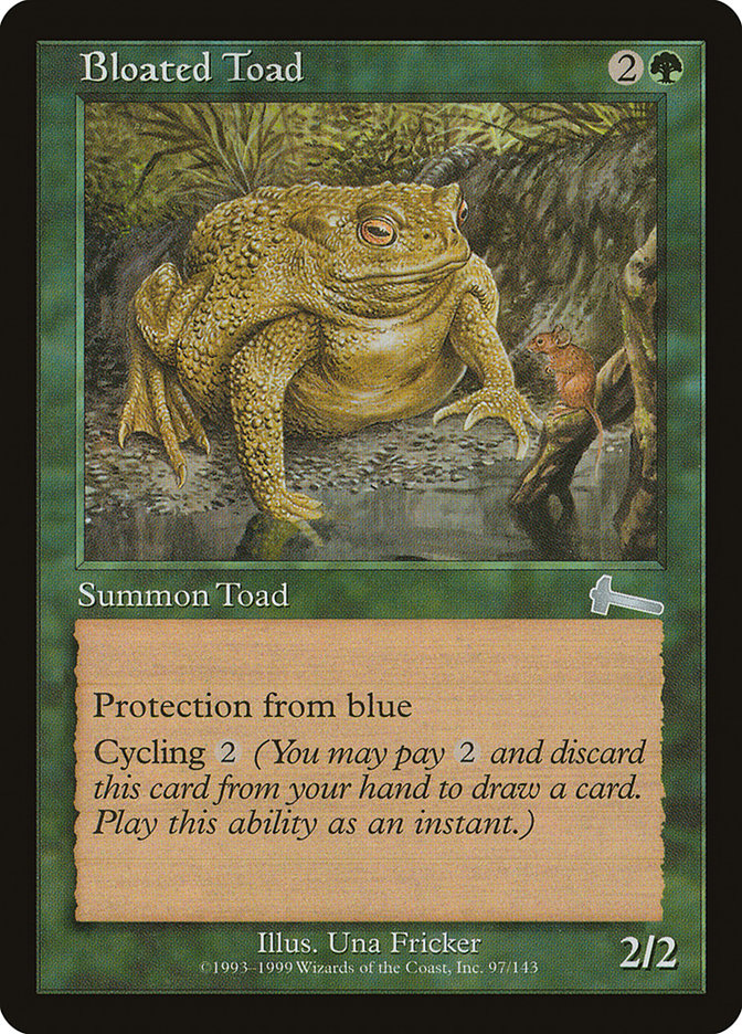 Bloated Toad