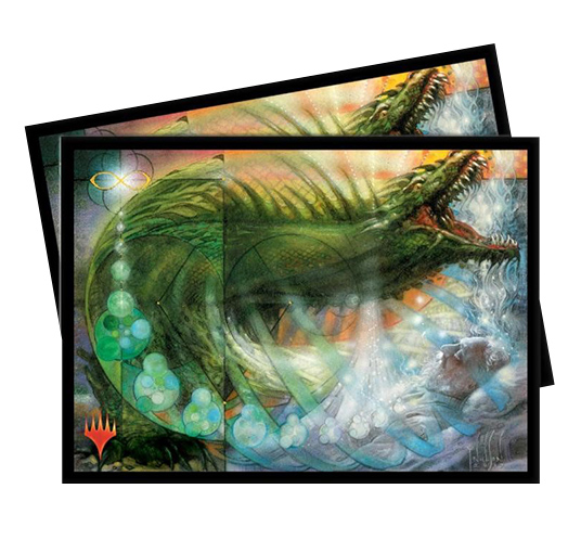 Ultra Pro Magic Matte Sleeves - Ultimate Masters - Pattern of Rebirth