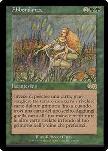 Abundance (Urza\