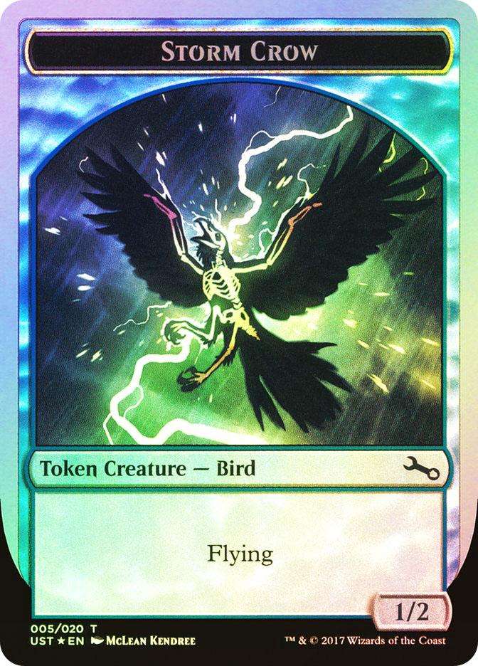 Unstable Magic MTG MINT CARD FOIL CONSTRUCT TOKEN 19//20