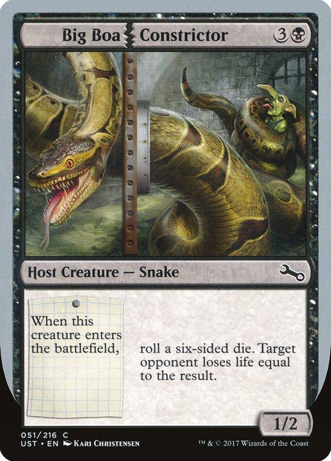 Big|Boa Constrictor