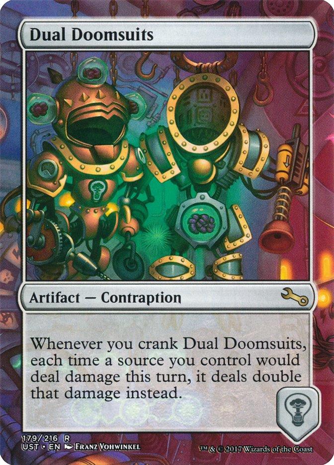 Dual Doomsuits
