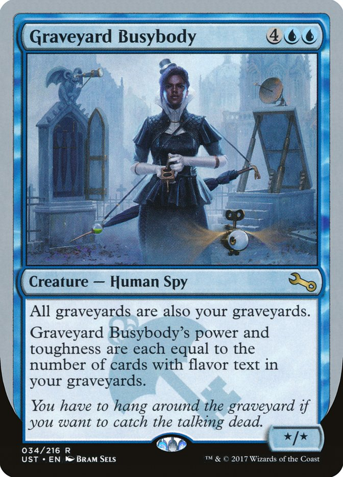 Graveyard Busybody