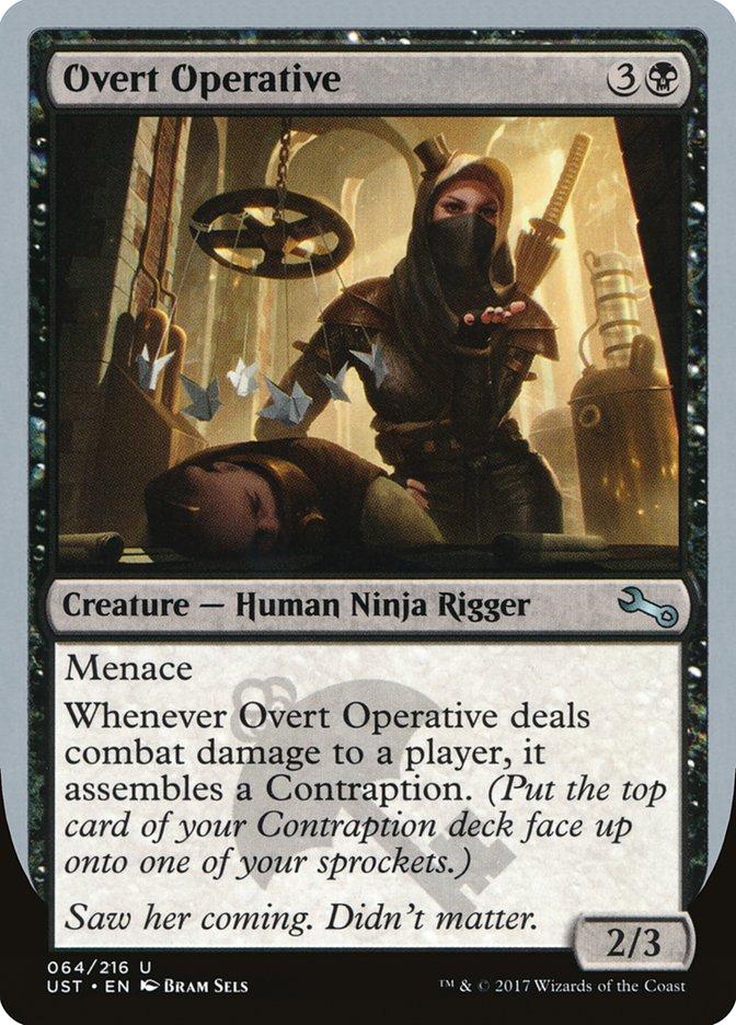 Overt Operative