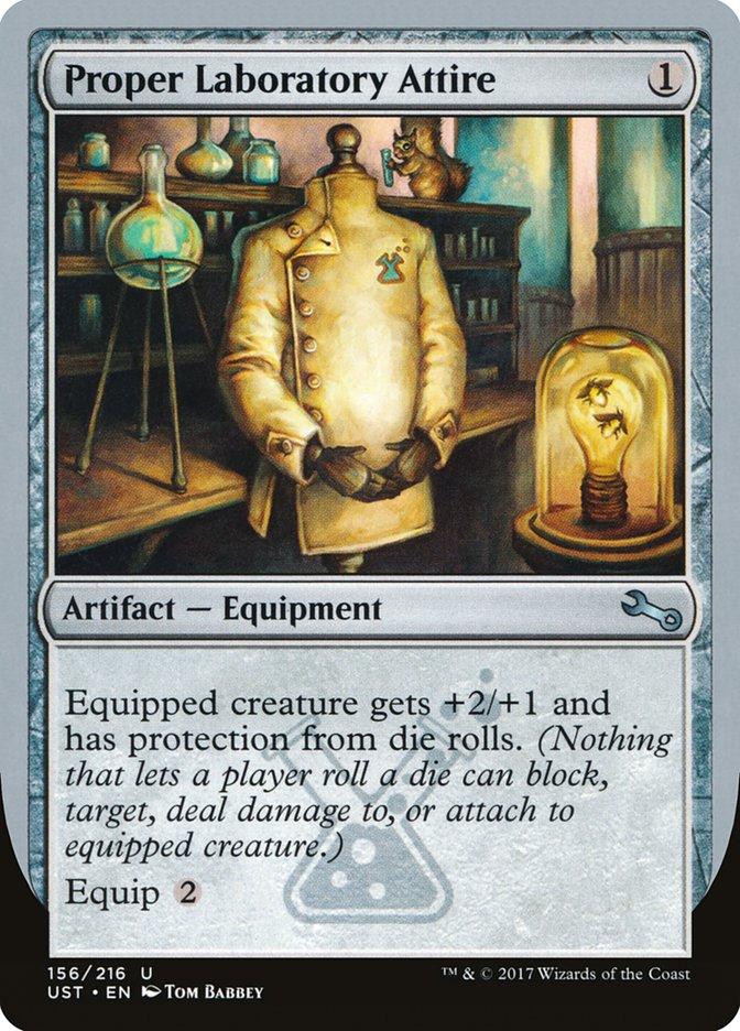 Proper Laboratory Attire