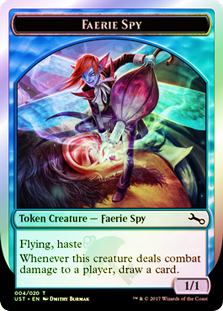 Faerie Spy Token