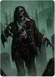 Zombie Token  (Full-Art)