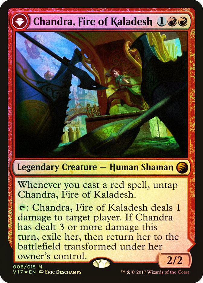 Chandra, Fire of Kaladesh | Chandra, Roaring Flame