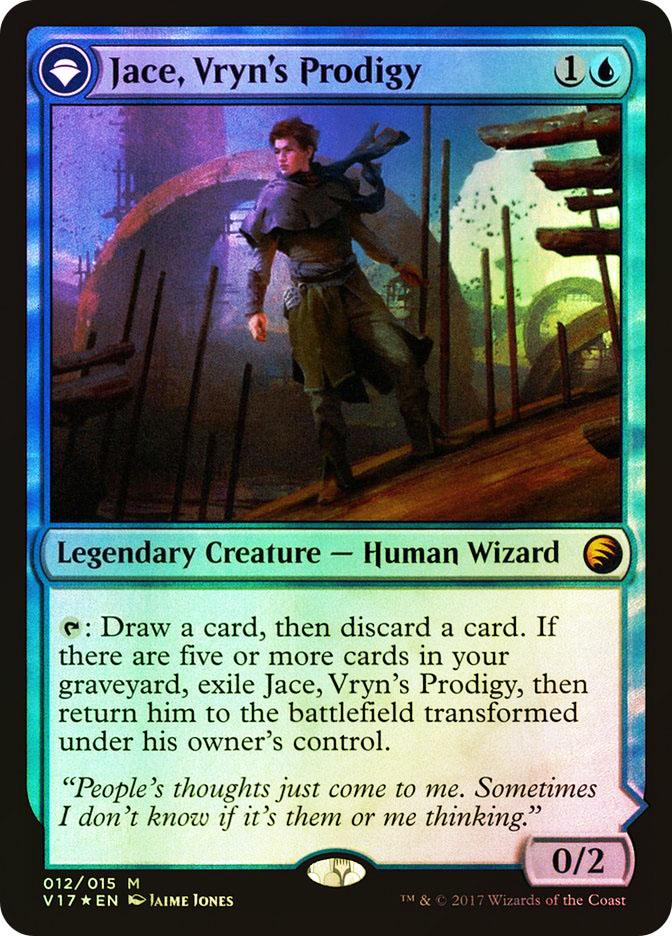 Jace, Telepath Unbound (Flip side of the multi-part card Jace, Vryn