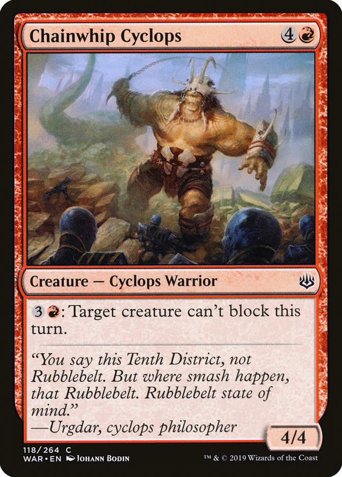 Chainwhip Cyclops