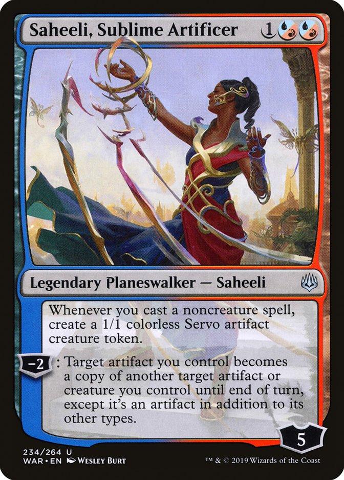 Saheeli, Sublime Artificer