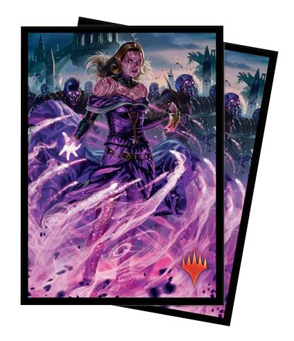 Ultra Pro Magic Matte Sleeves - War of the Spark - Liliana, Dreadhorde General