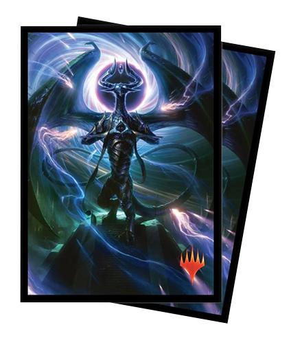 Ultra Pro Magic Matte Sleeves - War of the Spark - Nicol Bolas, Dragon-God