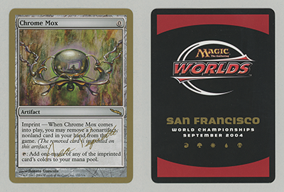 Chrome Mox (Aeo Paquette 2004) (Not Tournament Legal)