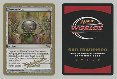 Chrome Mox (Manuel Bevand 2004) (Not Tournament Legal)