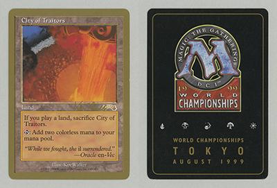 City of Traitors (Kai Budde 1999) (Not Tournament Legal)