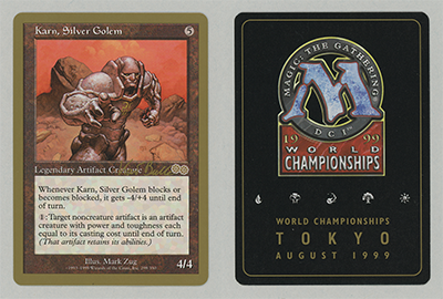Karn, Silver Golem (Kai Budde 1999) (Not Tournament Legal)