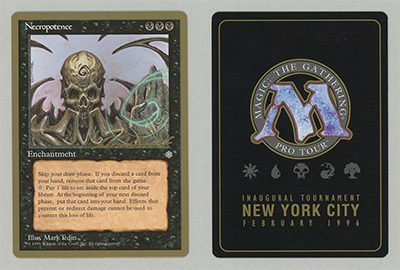 Necropotence (Leon Lindback 1996) (Not Tournament Legal)