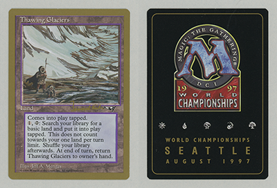 Thawing Glaciers (Janosch Kuehn 1997) (Not Tournament Legal)
