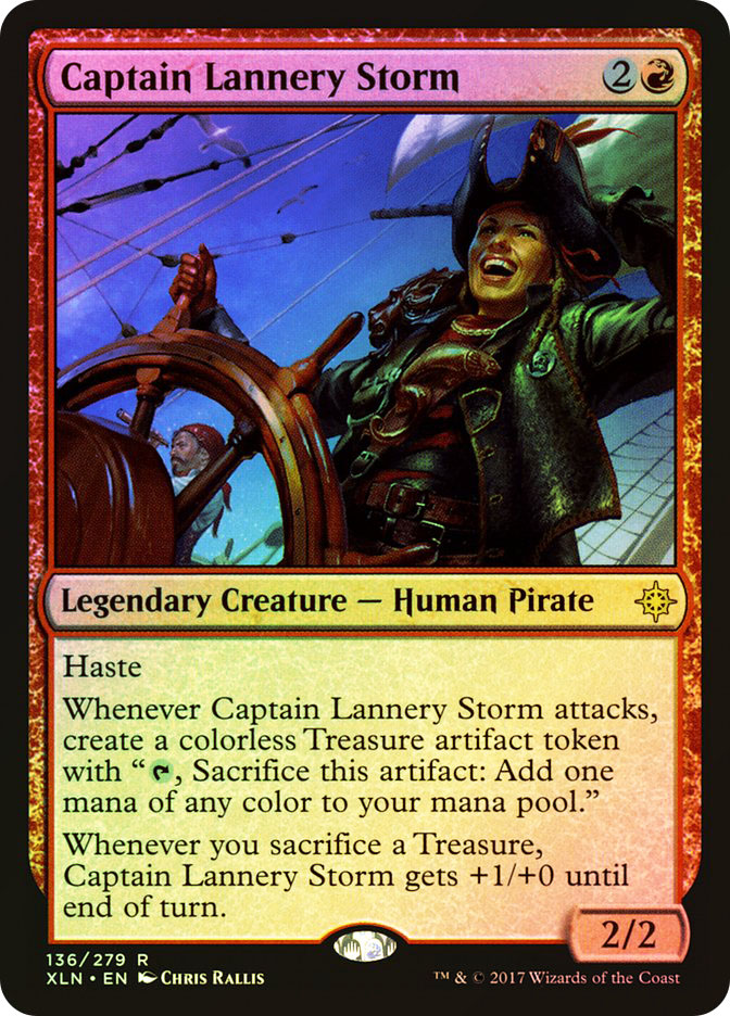 Captain Lannery Storm