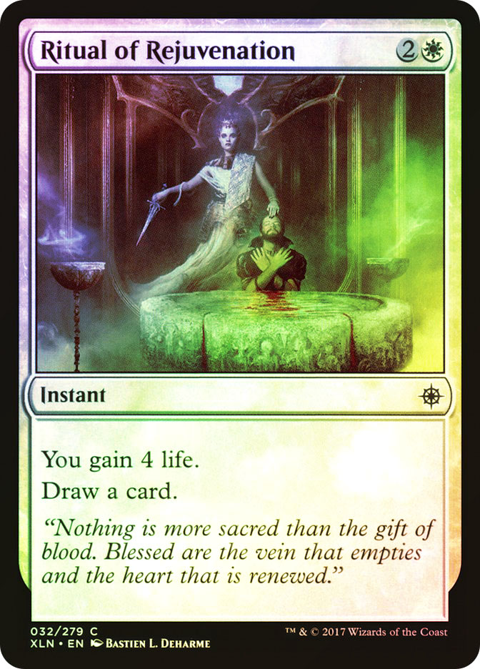 Ritual of Rejuvenation