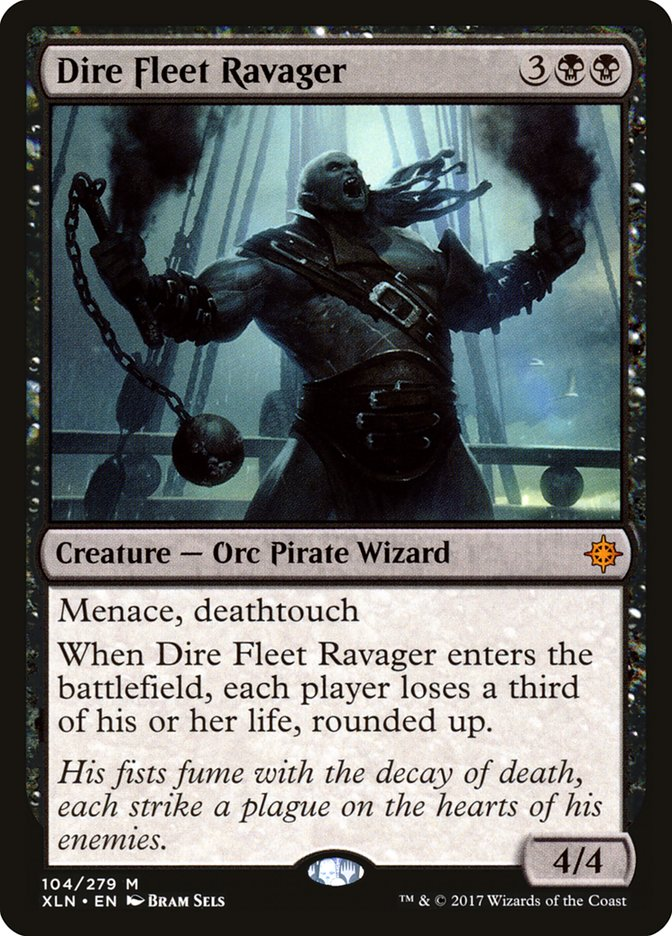 Dire Fleet Ravager (Pre-Order: Ships Sep 29)