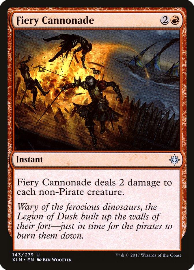 Fiery Cannonade
